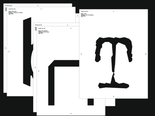MARCEL HÄUSLER ON-TYPE Ausstellungsdesign